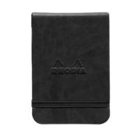 Rhodia Boutique Sert Kapak A7 Siyah Çizgisiz Defter Rw 118279