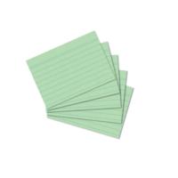 Herlitz A7 100' Lü Çizgili Yeşil Kartotek
