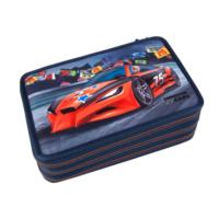 Top Model Monster Car 3 Katlı Dolu Kalem Kutu Dk08218