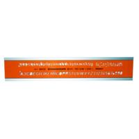 Standardgraph 5Mm Eğik Yazı Şablonu 32015