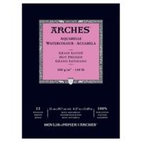 Arches Suluboya Blok Defter - Düz Doku - 300Gr. - A4- 12 Yp.