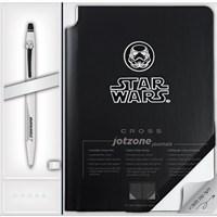 Cross At0625Sd-18/1 Click Star Wars Stormtrooper Jel Tükenmez Kalem + Defter Hediyelik Set