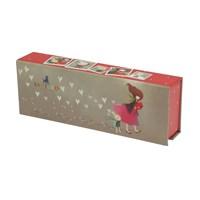 Santoro Korı Kumı Karton Kalemkutu-Gıft Of Frıen Santoro472kk02