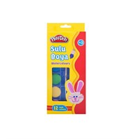 Play-Doh 12 Renk Suluboya