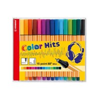 Stabilo Point 88 Mini Color Hıts Cd 15 Renk 688/15-02