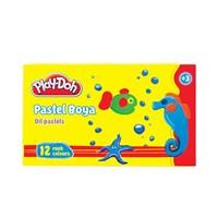Play-Doh 12 Renk Pastel Boya Pa 002