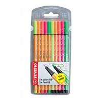 Stabilo Point 88+Pen 68 Neon 10'Lu Paket