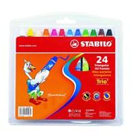 Stabilo Trio Pastel Boya 24 Renk