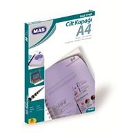 Mas 7740 Cilt Kapağı Pp - A4- 100 Lü Pk.Buzlu,