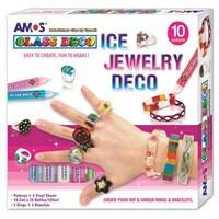 Amos Ice Jewelry 10,5 Ml X 10 Tüp + Takı Aksesuarları Gd10P10Ij