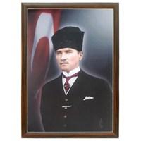 Akyazı 35x50 Atatürk Posteri-2 (Mdf Çerçeve)