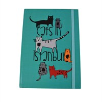 Biggdesign Cats İn İstanbul Defter 14X20
