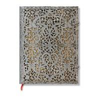 Paperblanks 2-1928-2 Silver Flıgree Nat Ultra Düz (Ultra – 180 x 230 mm. 144 Sf)