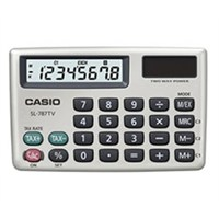 Casio Sl-787Tv-Gd Cep Tipi Hesap Makinesi