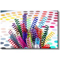 Mapicoil 16 mm Plastik Helezon Spiral Şeffaf 100 Lü (235 16 04)