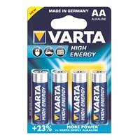 Varta High Energy Güçlü Alkalin Seri Kalem Pil - AA 4'lü 4906121414