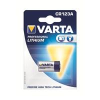 Varta Professional Lityum CR 123A Pil 6205301401