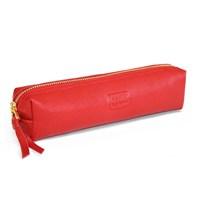 Leather&Paper Kırmızı Deri Kalem Kutusu
