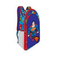 Trendix Superman Chest Anaokulu Çanta İki Gözlü TRX-3E2-SU1