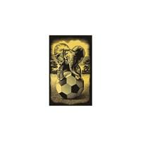 Reeves Altın Gravür Kazıma Seti - Fil - 180X110mm