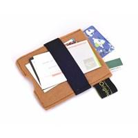 Orijinal Kulüp Mini Wallet Akıllı Lastikli Mini Cüzdan Bej