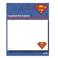 Notix Superman Ayraç 25 yp 4 x 15 x 50 Not Kağıdı