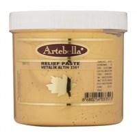 Artebella 300 Gr Metalik Altın Rölyef Pasta - 3351