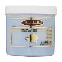 Artebella 300 Gr Simli Gümüş Rölyef Pasta - 3356