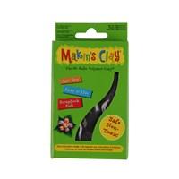 Makin's Clay 120 Gr Polimer Kil Tek Renk - Siyah
