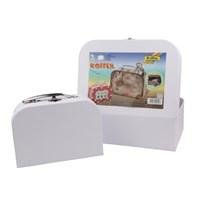 Folia Valiz Şeklinde 2'Li Karton Kutu