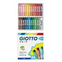 Giotto Olio - Yağlı Pastel Boya (Silindir) 24'Lü Kutu 293100