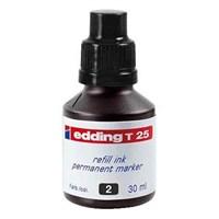 Edding T25 Permanent Refill 30 Ml Siyah