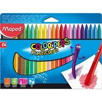 Maped Mum Boya Kalemleri Color'peps Plasticlean 24 Renk 862013