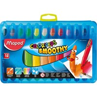 Maped Pastel Boya Color'peps Smoothy 12 Renk 836112