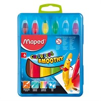 Maped Pastel Boya Color'peps Smoothy 6 Renk 836111