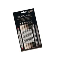 Copic Ciao 5+1 Set Warm Grey Ton