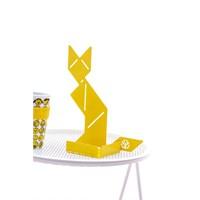 Ersa Mobilya Cevher Kedisi Notluk Oturan Sarı