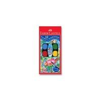 Faber-Castell Küçük Hazneli Suluboya 12 Renk 125011