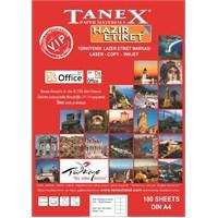 Tanex TW-2096 43,2x8,5 mm Laser Etiket 100 Ad.