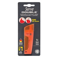 Serve Double Min 0,7+Fosf.Kalem Tekli Bls.Kırmızı Sv-Bfm07K