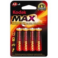 Kodak Max Aa X 4 Alkaline Batteries