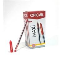Ofıca Maxı Ftu-12 Tükenmez Kalem Kırmızı