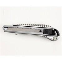 Umix Maket Bıçağı Geniş Otomatik 24 Lü Metalik Gri U1008-Krs