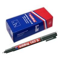 Edding 140S Permanent Kalem Cam Cd Asetat Kırmızı 10 Lu Paket