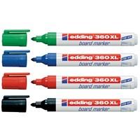 Edding 360Xl Board Marker Beyaz Yazı Tahtası Kalemi Kırmızı 10 Lu Paket