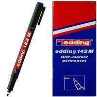Edding 142M Permanent Kalem Cam Cd Asetat Mavi 10 Lu Paket