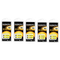 Duracell 10 Numara İşitme Cihazı Pili 5'Li Paket
