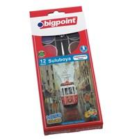 Bigpoint 12 Renk Büyük Boy Suluboya Bp757-12T