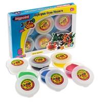 Bigpoint Zıplayan Oyun Hamuru 6 Renk 1 Bp765-06
