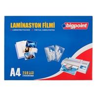 Bigpoint A4 Laminasyon Filmi 125 Micron Bp694